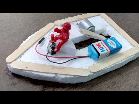 Make Electric Toy Boat - DIY Boat