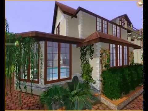 SIMS 3 - California mansion
