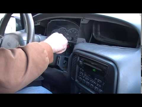 Ford Windstar Instrument Cluster Removal Procedure by Cluster Fix
