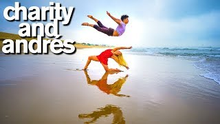 World of Dance Stars Charity and Andres 10 Minute Challenge (are they dating??)