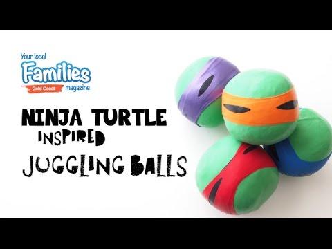 5 Minute Craft - Ninja Turtle Inspired Juggling Balls
