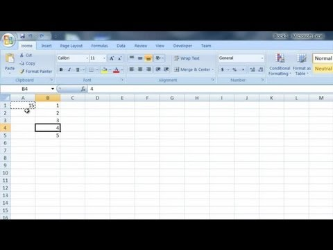 How to Lock Numeric Values in Excel : Computer Tips