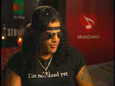 Slash from Guns N' Roses Talks about Addiction