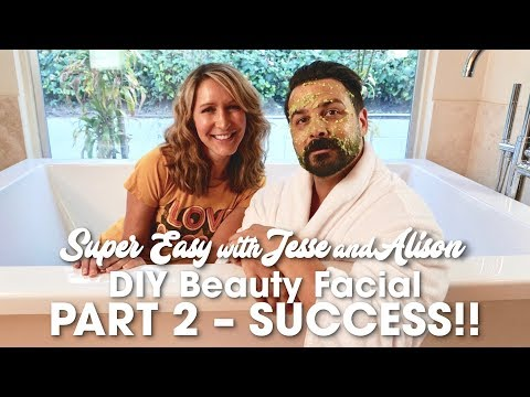 Funny DIY Facial Mask - Success, Pt. 2