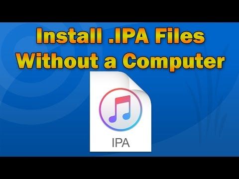 How to Install App .IPA Files Directly on iPhone, iPod touch or iPad (No Computer)