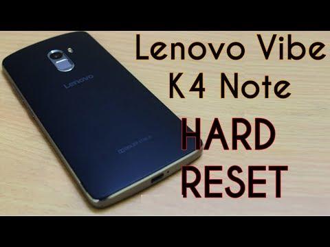 Lenovo K4 Note Hard Reset