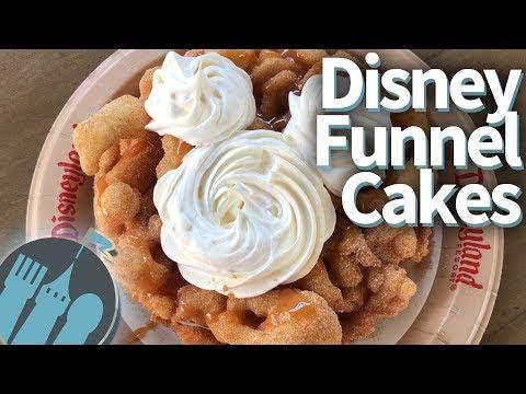 ULTIMATE Disney World and Disneyland Funnel Cakes!