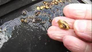 Gold prospecting, Underwater sniping in Taiwan - 20120721