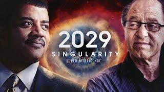 2029 : Singularity Year  - Neil deGrasse Tyson &  Ray Kurzweil