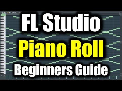 FL STUDIO PIANO ROLL TUTORIAL   How to Use Piano Roll in FL Studio Beginners Guide FL Studio Basics