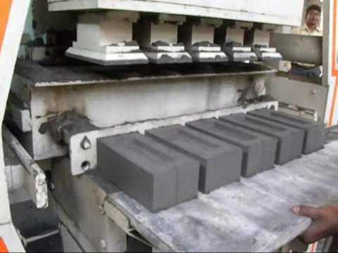 Automatic Fly Ash Brick Plant.wmv