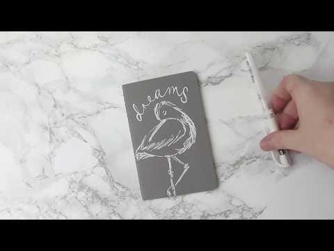 Uniball Signo Notebook Design
