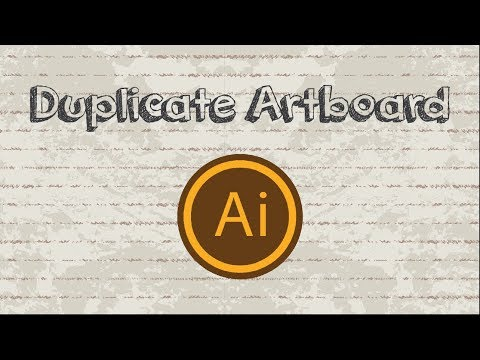 How to Create and Duplicate Artboard in Adobe Illustrator