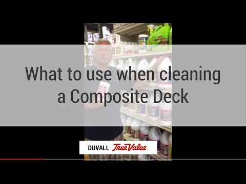 How to Clean Composite Decks