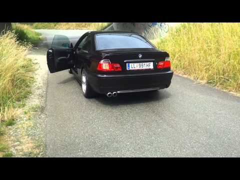 BMW E46 325Ci Sound - Schmiedmann Header, Straight Pipes