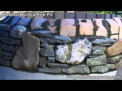 How To Build A Fire Pit: Part 4