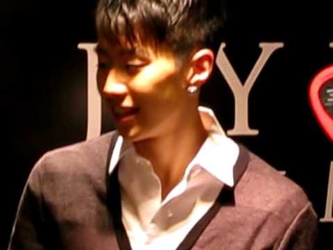Jay Park FanMeet at M1, Paragon in Singapore__4