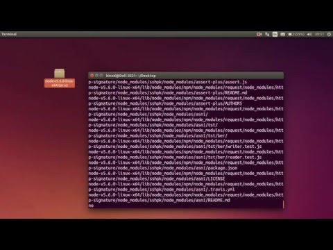 Extract and install .tar.xz File on Ubuntu 14.04 LTS