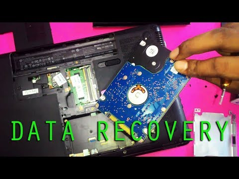 How to Recover Data / Files from a Old or Dead Laptop - Easy DATA Recovery  [All Models]