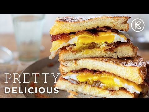 The Ultimate French Toast Breakfast Sandwich