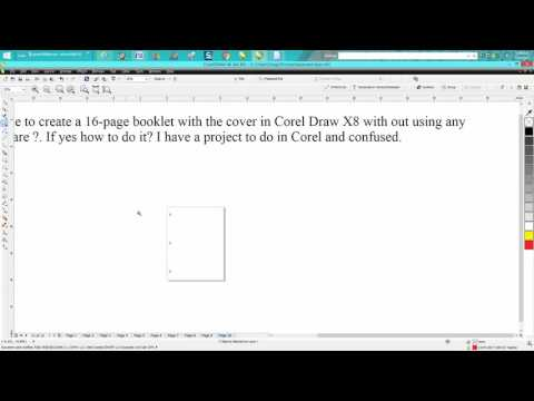 Corel Draw Tips & Tricks Create a Booklet