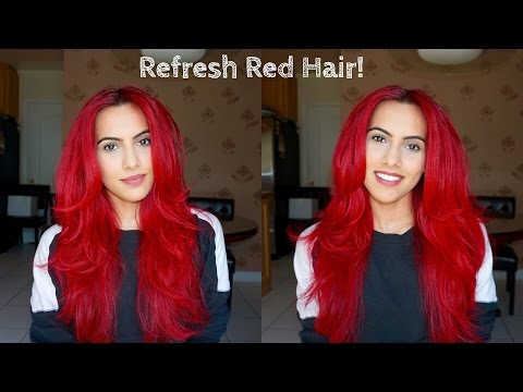 How to refresh dull red hair!