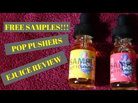 FREE SAMPLES! Pop Pushers Review