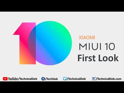 Xiaomi MIUI 10 First Look (Chinese Version)