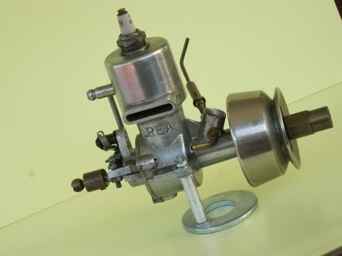 Nitro model engine with cooling PUMP  (part II)