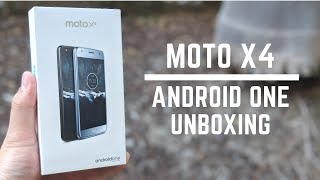Moto X4 Android One Unboxing & Detailed Walkthrough