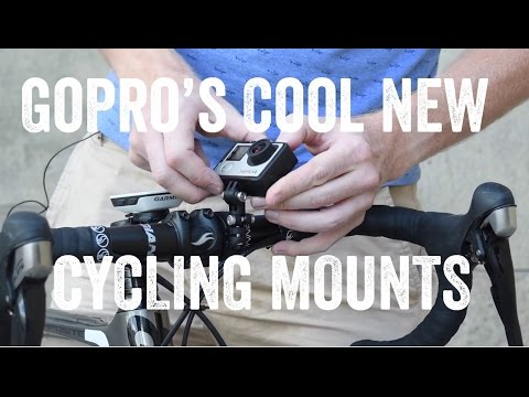 GoPro's New Cycling MOUNTS!