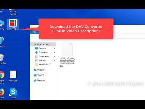 How to Convert DAV file to MP4, AVI, MPG, FLV, etc