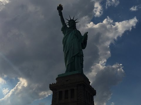 Ferry Ride to Statue of Liberty on Liberty Island - NYC 7•11•14