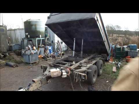 Homemade Tipper Trailer/dump trailer