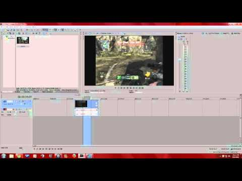 how to cut and trim video clips in sony vegas pro (ALL VERSIONS)
