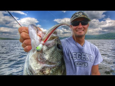 How to Fish Hair Jigs for Offshore Bass