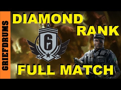Road to Diamond: Rainbow Six Siege Platinum Rank - 2 Matches