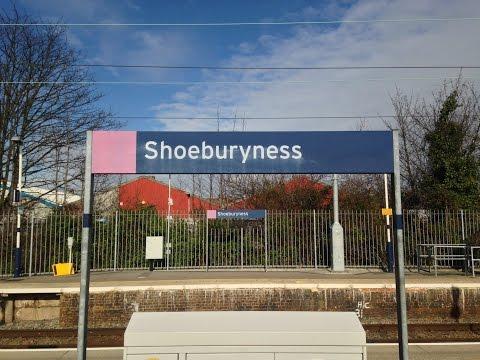 Full Journey on c2c (Class 357) from Fenchurch Street to Shoeburyness (via Basildon) [stopping]