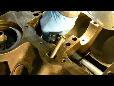 Cam Bearing Install Building a 350 chevy part 2