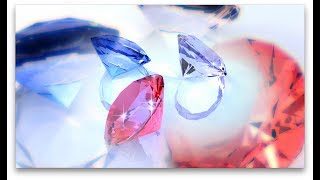 Colourful Diamonds Rotating Background - Free Stock Video Download - Free Stock Footage