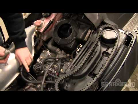 How to change a spark plug on a snowmobile