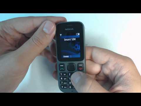 Nokia 100 factory reset