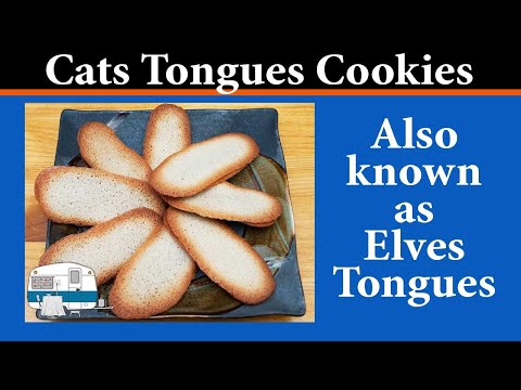 How to make Cats Tongues Cookies