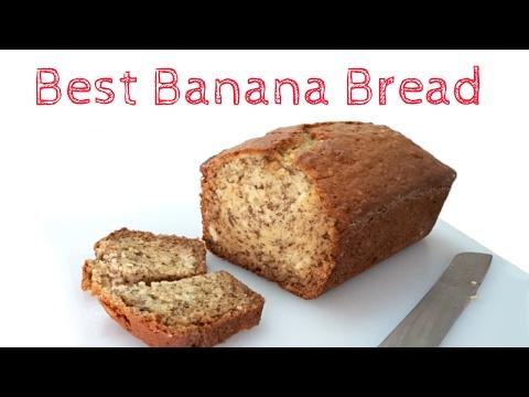 Best Banana Bread Recipe (very moist!) 🍌🍞