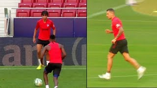 Felix and Trippier Look Sharp During Atletico Madrid Training Session | Sports Tak