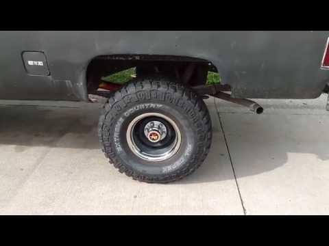 New Rally Wheels & Hub Caps On '81 Chevy K20