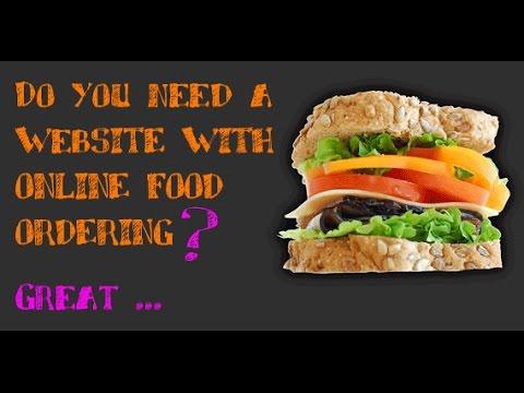 Online Food Ordering Website