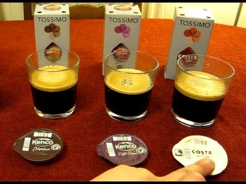 Tassimo Costa at Home - Costa Americano - Filter Coffee Taste Test & Review