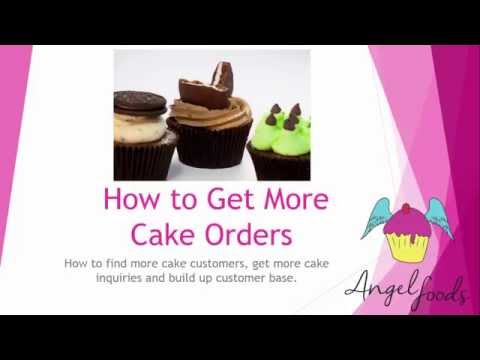 How to Get More Cake Orders