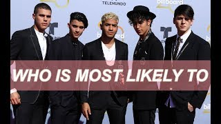 CNCO TALKS ABOUT GIRLFRIENDS AND REVEALS WHO WILL GET MARRIED FIRST
